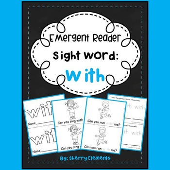 Sight Word Reader WITH