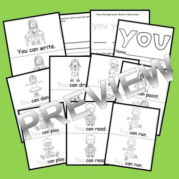 Sight Word Reader: you