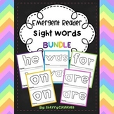 Sight Word Fluency Readers BUNDLE (he, was, for, on, are)