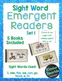 Emergent Reader Sight Words Set 1