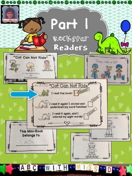 Emergent Reader-Sight Words and Short O Word Families