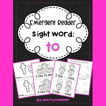 Sight Word Reader: to
