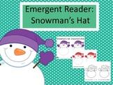 Emergent Reader: Snowman's Hat