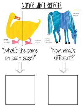Emergent Reader Strategy Poster