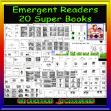 Emergent Reader Super Pack-20 books of which 5 are wordless