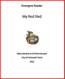 Emergent Reader: Ted's Red Sled