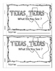 Emergent Reader: Texas, Texas, What Do You See?
