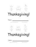 Thanksgiving Emergent Reader Sight Words (here, is, the)