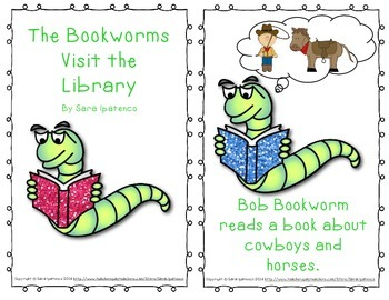 "Emergent Easy Reader: ""The Bookworms Visit the Library"""