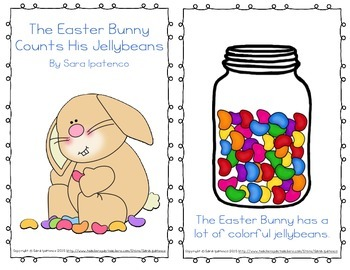 "Emergent Easy Reader: ""The Easter Bunny Counts His Jellybeans"""