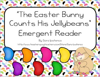 """Emergent Easy Reader: """"The Easter Bunny Counts His Jellybeans"""""""