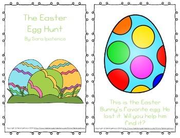 "Emergent Easy Reader: ""The Easter Egg Hunt"""
