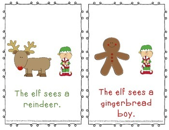 """Emergent Easy Reader: """"The Elf Sees Christmas"""""""