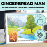 Emergent Reader The Gingerbread Man