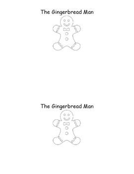 Emergent Reader The Gingerbread Man