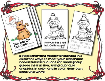 Emergent Readers (3) + Printables - Instructional Unit + Graphic Organizers