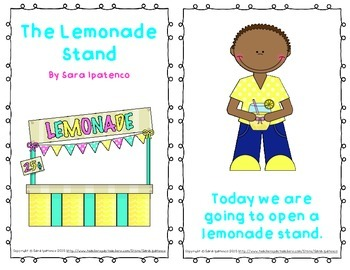 "Emergent Easy Reader: ""The Lemonade Stand"""