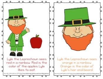 """Emergent Easy Reader: """"The Leprechaun Sees All the Colors of the Rainbow"""""""