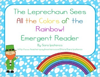 "Emergent Easy Reader: ""The Leprechaun Sees All the Colors"