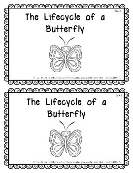 Emergent Reader:  The Life Cycle of a Butterfly Level 2