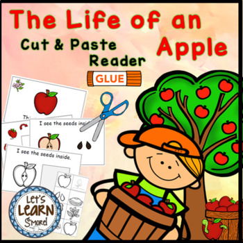 Apple Life Cycle Emergent Reader, Apple Themed, Apple Emergent Reader