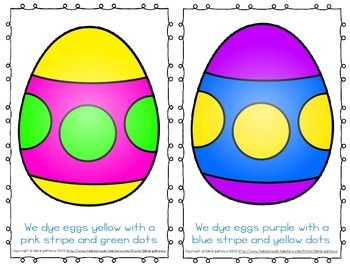 "Emergent Easy Reader: ""The Many Colors of Easter Eggs"""