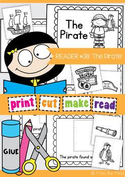 Emergent Reader: The Pirate