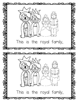 Emergent Reader:  The Royal Family