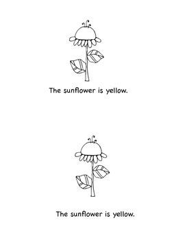 Emergent Reader: The Sunflower