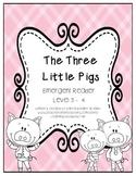 Emergent Reader: The Three Little Pigs - DRA Level 3/4