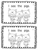 Emergent Reader: The Three Little  Pigs - DRA level 1