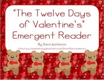 "Emergent Easy Reader: ""The Twelve Days of Valentine's"""