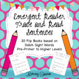 Emergent Reader Sight Word Fluency Sentences and Tracing F