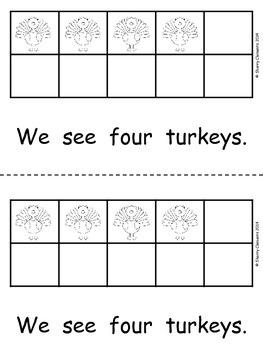 Turkeys Emergent Reader