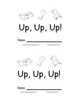 Up, Up, Up! Emergent Reader