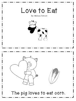 Emergent Reader- Valentine's Day