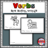 Emergent Reader: Verbs are Action Words