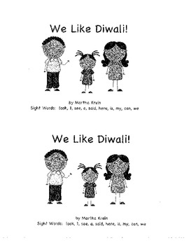 Emergent Reader: We Like Diwali