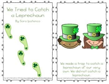 "Emergent Easy Reader: ""We Tried to Catch a Leprechaun"""