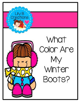 Emergent Reader - What Color Are My Winter Boots?