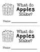 Emergent Reader - What Do Apples Make?