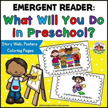 Beginning of School Emergent Reader: What Will You Do in Preschool?