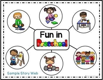 Beginning of School Emergent Reader: What Will You Do in Preschool?