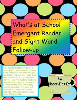 Emergent Reader What's at School?