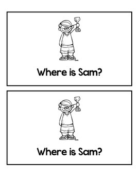 Emergent Reader: Where are you?