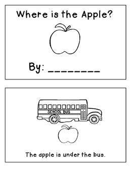 Emergent Reader: Where is the Apple?