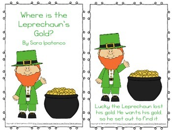 "Emergent Easy Reader: ""Where is the Leprechaun's Gold?"""