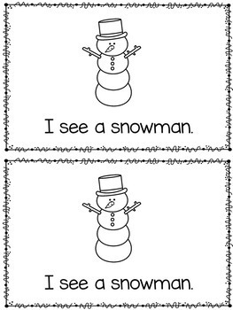 Emergent Reader - Winter