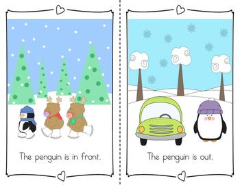 Emergent Reader: Winter Opposites