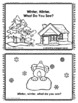 Emergent Reader Winter Themed Winter, Winter, What do you see?